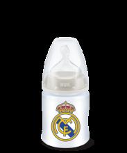 Biberón FC+ PP Silicona Real Madrid 150ml NUK