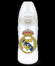 Biberón FC+ PP Silicona Real Madrid 300ml NUK