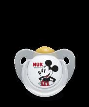 NUK Trendline Disney Mickey Schnuller grau/weiß